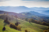 Carpathian mountains landscape — Foto Stock