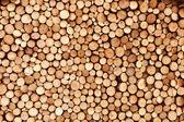 Firewood texture — Stock Photo