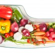 Vegetables stored in refrigerator — Stock Photo #40847851