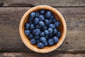 Blueberry in a bowl — Stock Photo