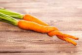 Raw carrot — Stock Photo