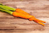 Raw carrot — Stock Photo