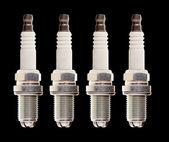 Car engine spark plugs — Stockfoto