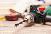 Carpenter's workshop — Stock Photo