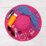 Beach accessories - summer travel — Stock Photo #50447205