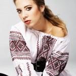 Slavic girl — Stock Photo #5727634