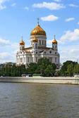 Tapınağı'nın moskova'da kurtarıcı — Stok fotoğraf