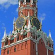 Clock tower of Moscow Kremlin — Stock Photo #13258522