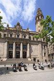The main post office of Catalonia, Barcelona — Photo