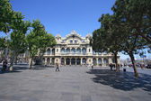Administration building in Port Vell of Barcelona — Stock Photo