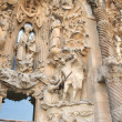Sagrada Familia statues — Stock Photo