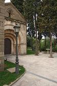 Roman church in Poble Espanyol in Barcelona — Photo