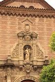 Gothic church in Poble Espanyol, Barcelona — Stockfoto