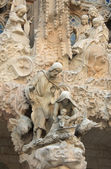 Sagrada Familia sculptures — Stock Photo