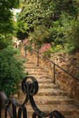 Stairs in Park Guell, Barcelona — Stock Photo