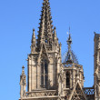 Barcelona cathedral facade details — Photo