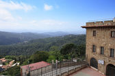 Tibidabo dağı, barcelona görüntülemek — Stok fotoğraf