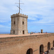 Stock Photo: Castle of Montjuic, Barcelona