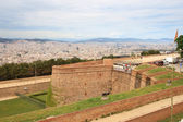 Castle of Montjuic, Barcelona — Stock Photo