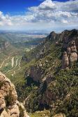 View from Montserrat — Stock Photo