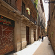 Stock Photo: Barri Gotic in Barcelona