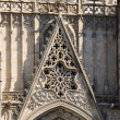Stock Photo: Barceloncathedral facade details