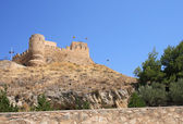 Biar castle, Alicante, Spain — Stock Photo