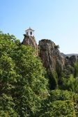Bell Tower in Guadalest — Stock Photo
