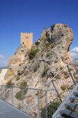 Ancient Castle Sax in Alicante Spain — Zdjęcie stockowe