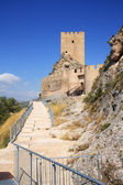 Ancient Castle Sax in Alicante Spain. — Stock Photo