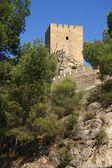 Ancient Castle Sax in Alicante Spain. — Stockfoto