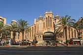 The eclectic style central market  of Alicante — Stock Photo