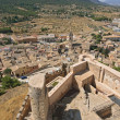 View of Biar town from the castle tower, Alicante, Spain. — Stock Photo #41791543