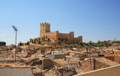 Villena Castle in Costa Blanca Alicante Spain. — Stock Photo