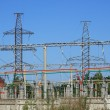 High voltage substation — Stock Photo #42045123