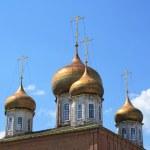 Golden domes — Stock Photo #6367880