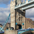 Famous Tower Bridge, London, UK - 图库照片