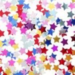 Stars in the form of confetti — Stock Photo