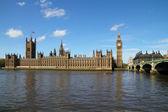 Paleis van westminster met de big ben — Stockfoto