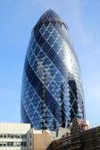 The gherkin skyscraper in London — Stock Photo