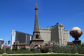 Paris Las Vegas hotel and Casino — Stock Photo