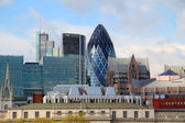 The modern 30 St Mary Axe on April 30, 2012 in London — Stock Photo