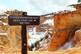 Bryce Canyon National Park in Utah — Stock Photo