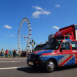 London Taxi - Stock Photo