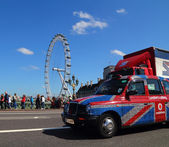 London Taxi — Stock Photo