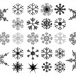 Vector snowflakes — Stock Vector #14834497