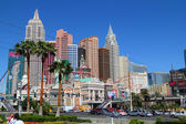 LAS VEGAS NV - APRIL 26: New York - New York Hotel & Casino on A — Stock Photo