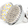 Newest LED light bulb - Stock Photo