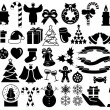 Christmas and Winter icons collection — Stock Vector #15636575