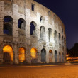 The Colosseum at night - Stock Photo